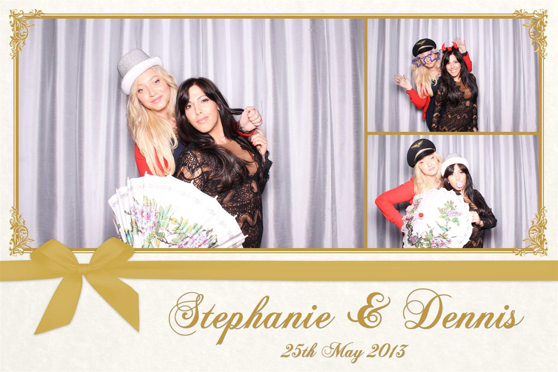 Dennis and stephanie wedding