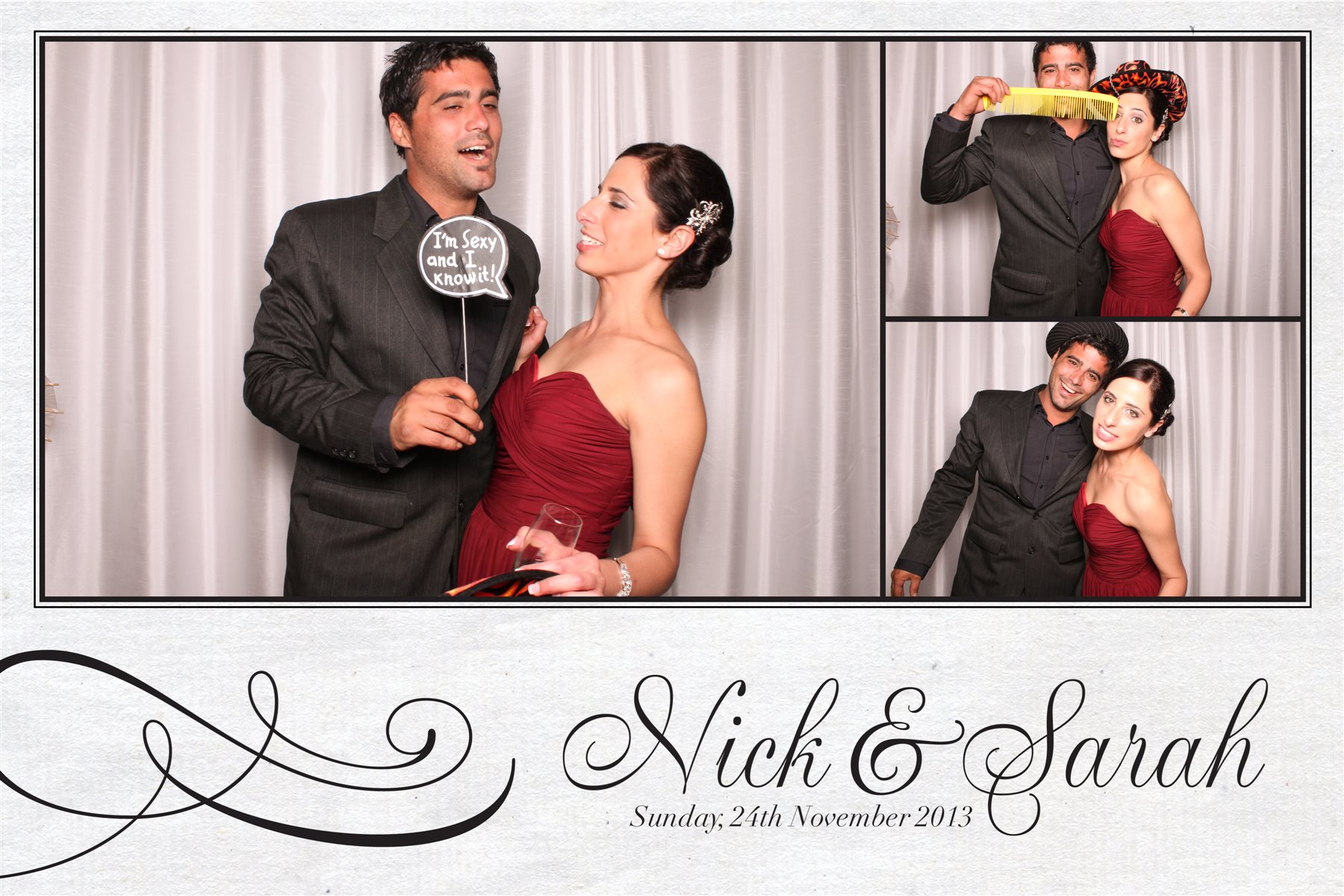 Nick and sarah wedding